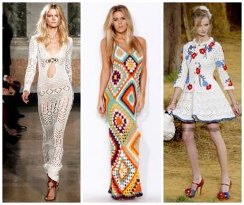 одежда с особым шармом или вязаные вещи в моде летом 2018